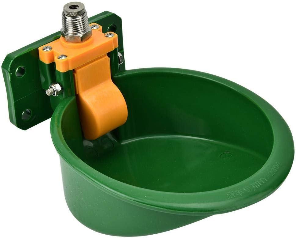 Hffheer Cuenco automático de Agua de Oveja Ganadero Profesional Bebedero Animales de Granja Vaso de plástico para Caballos Cabra Vacas Lechones