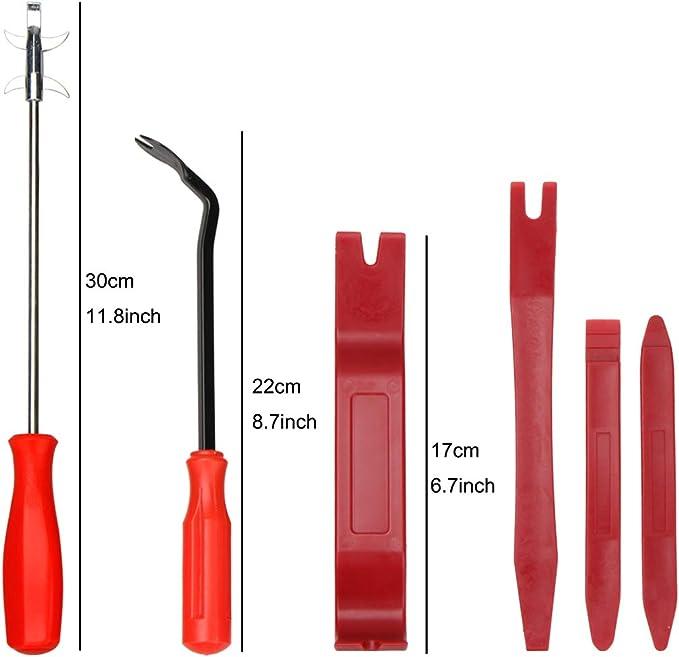 kit de cambio de rueda profesional Kit de herramientas de hierro de palanca de cucharas de neum/áticos para herramienta de reparaci/ón de bicicletas Kit de palanca de cucharas de neum/áticos 2#