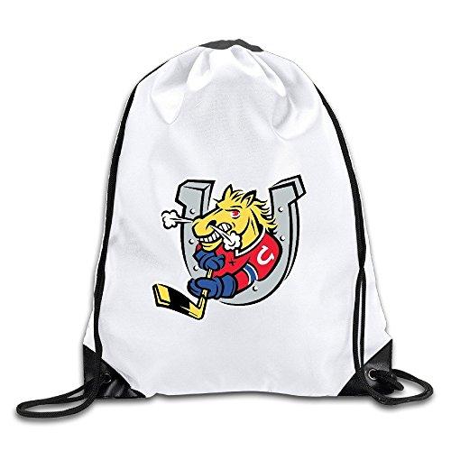 Show Time Horse Fighting Logo Backpack Gymsack Drawstring Sack (Thomas Padalecki Halloween)