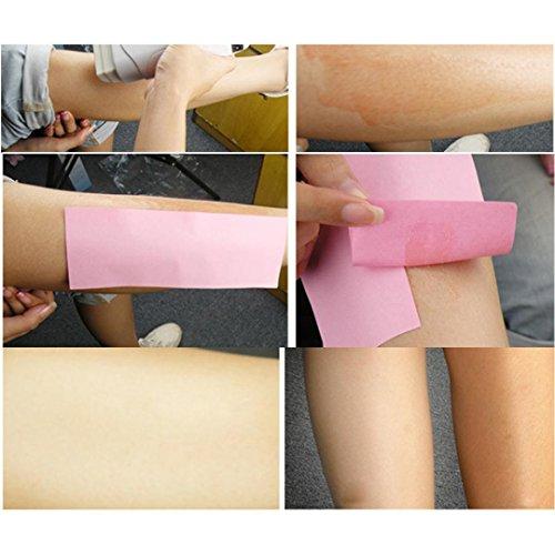Cartuccia Di Cera Depilatoria Inkach - Unisex Riscaldatore Per Depilazione A Caldo Per Capelli Bikini Da Donna I