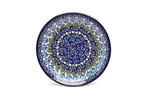 Pottery Dessert (Polish Pottery Plate - Salad/Dessert (7 3/4