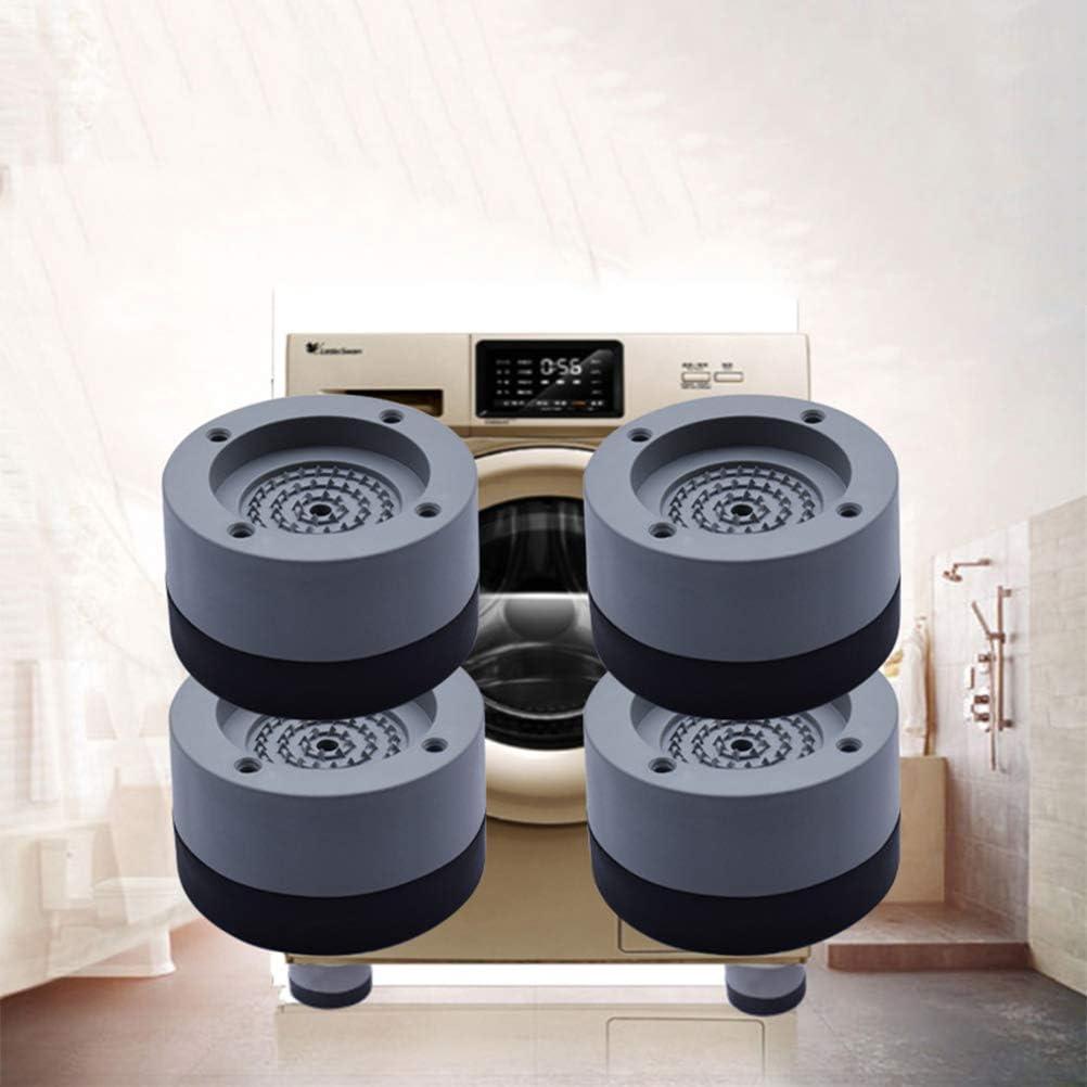 4pcs L Surenhap Waschmaschinen Schwingungsd/ämpfer Vibrationsd/ämpfer Antivibrationsmatte f/ür Waschmaschine /& Waschtrockner F/ü/ße