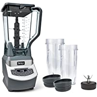 Ninja BL660 72 oz Countertop Blender with Two 16oz Cups and To Go Lids