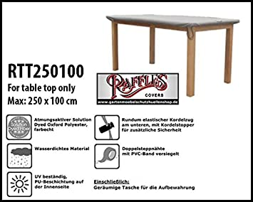Amazon De Raffles Covers Rtt250100 Schutzhulle Fur Eine Rechteckige