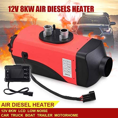 ALEXTREME 8KW Diesel Air Heater 12V Diesel Parking Heater Set with 10L Tank Remote Control LCD Display