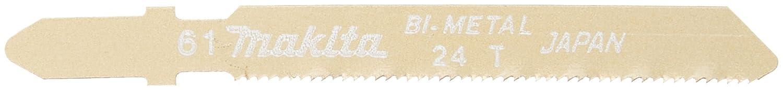 マキタ ジグソー・小型レシプロソー用ブレード バイメタル刃No.61(5入)