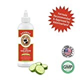 SEAMUS Otic Ear Solution - Best Ear Cleaner for Dogs, Professionally Formulated for  Bacteria, Itch, Debris and Smell, Infused with Essence of Cucumber, Melon, Aloe Vera and Oatmeal Extract