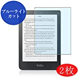 【2 Pack】 Synvy Anti Blue Light Screen Protector for Kobo Clara HD 6 2018 HD6 Anti Glare Screen Film Protective Protectors [Not Tempered
