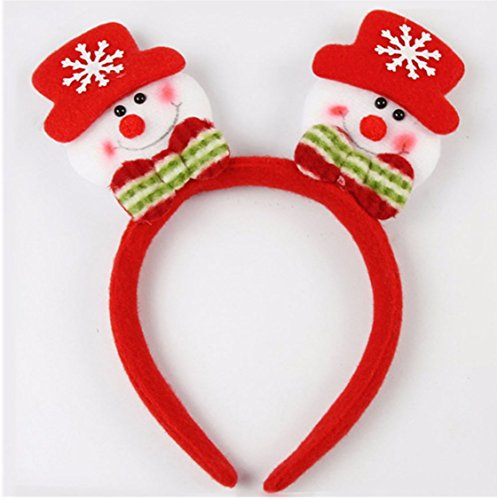 Christmas Hairbands LED Flashing Headdress Ornament Santa Snowman by superjune (2)