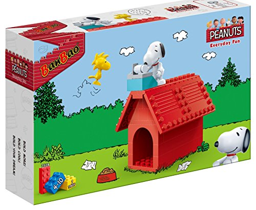 BanBao Peanuts - Snoopy Red Dog House - Dog Town Red Dog