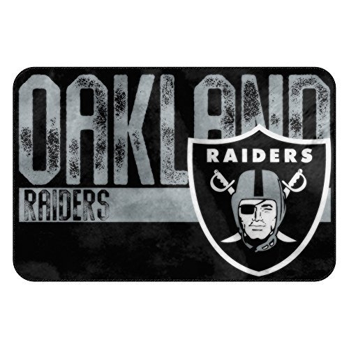 The Northwest Company NFL Oakland Raiders Embossed Memory Foam Rug, One Size, Multicolor