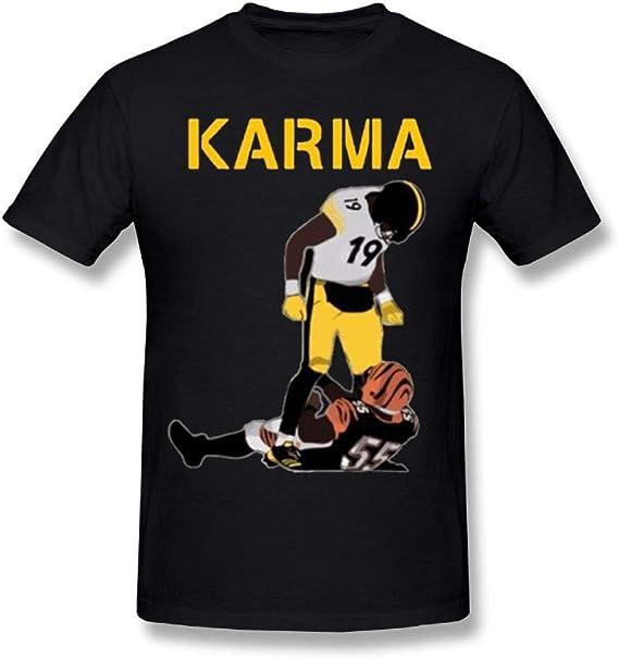 Man's Steelers Karma Juju Smith-Schuster Vontaze Burfict T Shirts