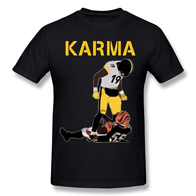 013af8e3 Amazon.com: Man's Steelers Karma Juju Smith-Schuster Vontaze Burfict T  Shirts: Clothing