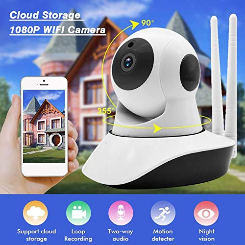- Home Security IP Camera Wi-Fi Wireless Mini Network Camera Surveillance WiFi HD 1080P Night Vision CCTV IP Cam Baby Monitor