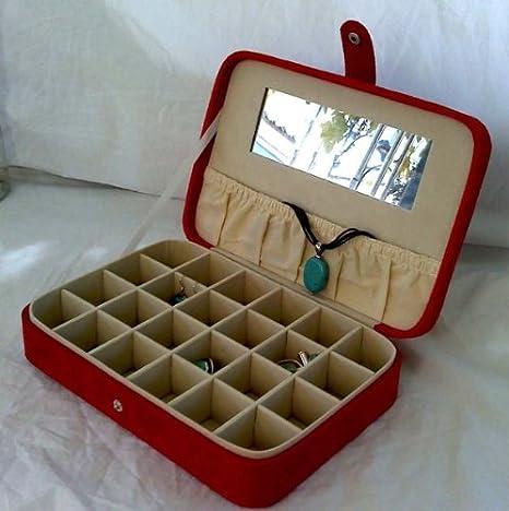 Amazon.com: arete y Anillo Caso (Rojo): Home & Kitchen