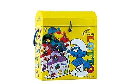 Amazon.com: Barbo Toys Pitufos Shaped Lotto Juego: Toys & Games