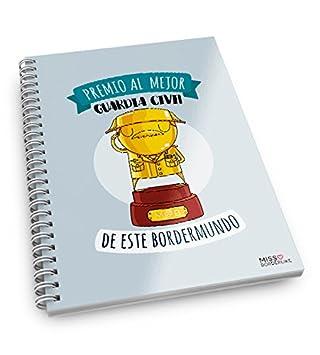 Missborderlike - Cuaderno anillas -Premio al mejor guardia ...