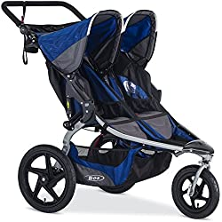 BOB 2016 Stroller Strides Fitness Duallie Stroller, Blue