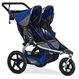 BOB Stroller Strides Fitness Duallie Jogging Stroller, Blue Review