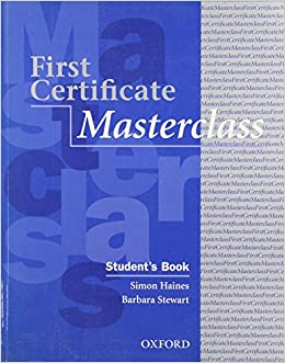 Book First Certificate Masterclass: Student's Book