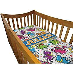 Dinosaur Print Boy's Crib Comforter / Quilt (Personalized)