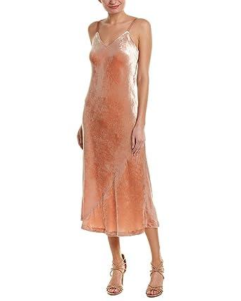 A.L.C. Light Women s Velvet Solid Slip Sheath Dress 23626bc0b