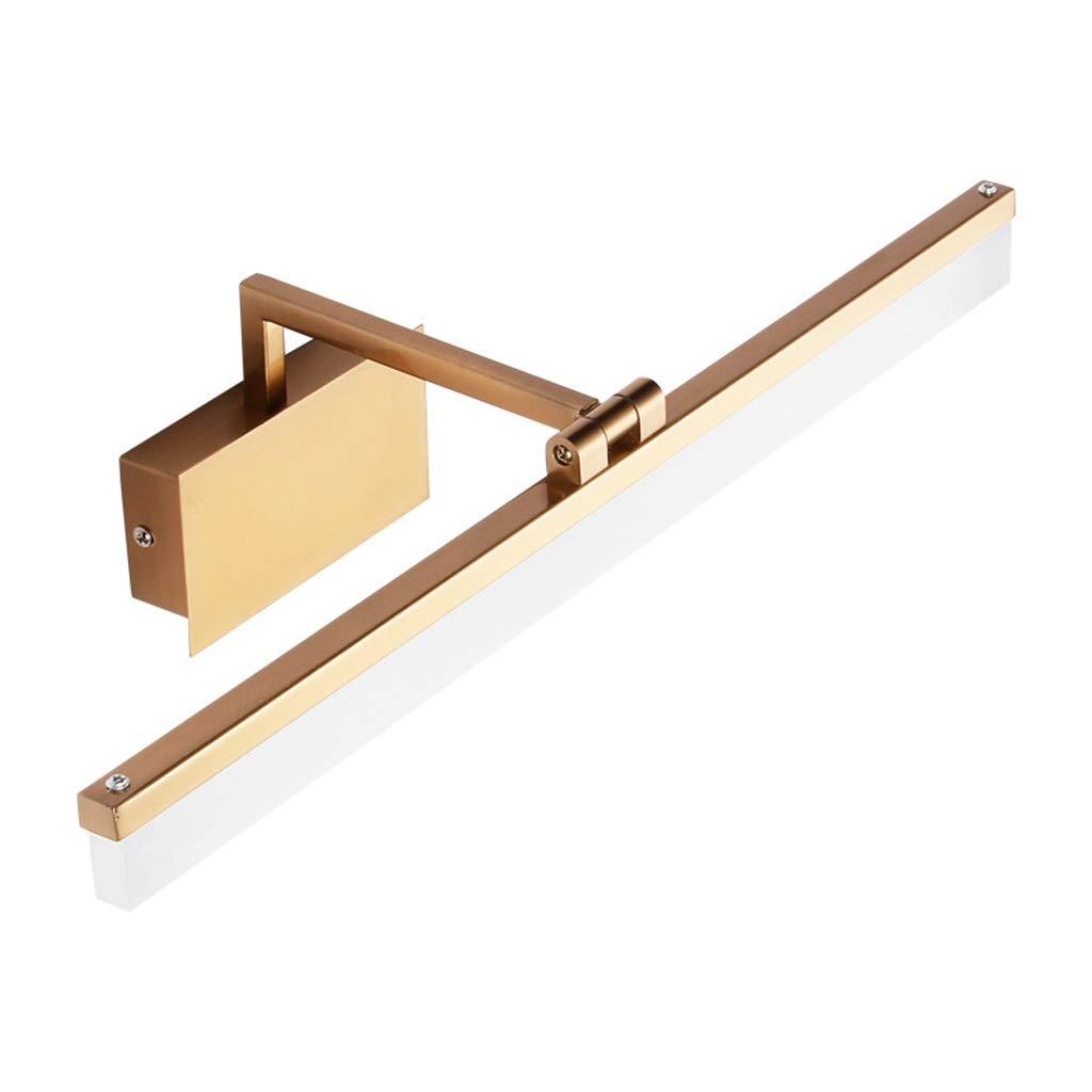 &Badezimmerbeleuchtung Spiegel-Kabinett-Licht geführt, Badezimmer feuchtigkeitsfester Spiegel Scheinwerfer-Frisierkommode Licht (Größe   42CM 9W)