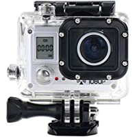 Action Camera, TONSEE Amkov AMK5000S Sport Camera Strong Wifi Technology 170 Degrees Wide Angle Lens - Silver