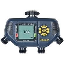 Melnor 63280 Digital Hose Timer-4 Outlets Water, Gray