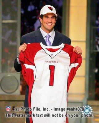 (Matt Leinart Cardinals NFL Draft 8x10 Color)
