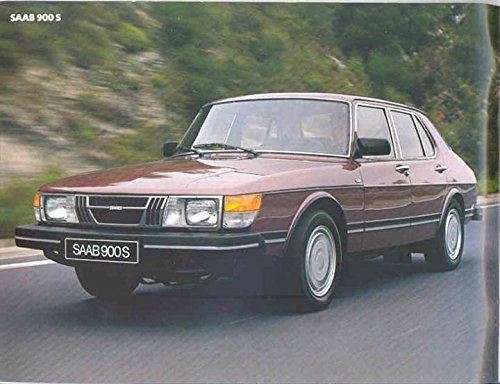 Amazon.com: 1983 Saab 900 & Turbo Sales Brochure: Entertainment Collectibles