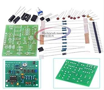 DIY Kits NE555 Multi-Channel Waveform Generator Module Sine Triangle Square Wave