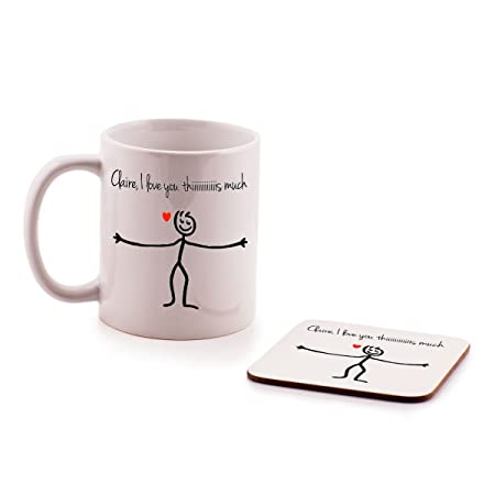 HirosRPersonalised Gift MUG For Nanny My Fingers May Be Small