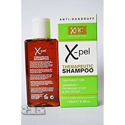 XHC Xpel Therapeutic Shampoo Treatment Anti Dandruff Psoriasis Itchy Dry Scalp 125Ml from XHC