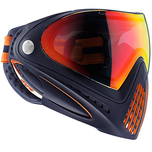 Dye Precision I4 Thermal Paintball Goggle Orange Crush by Dye