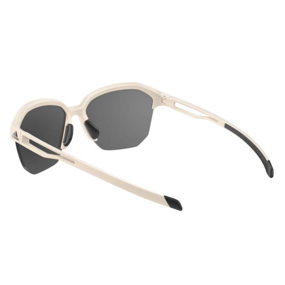 Raw White//Grey Lens Adidas Sunglasses AD5075 Exhale 8500 65-10-135
