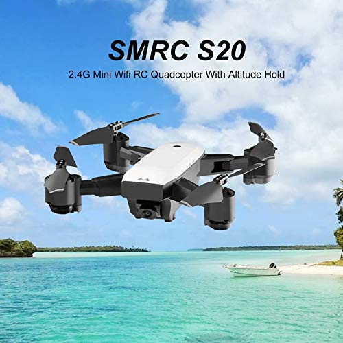 Functy WiFi Mini-Drohne mit Kamera HD 1080P SMRC Quadcopter S20 RC Quadcopter SMRC 2.4G Altitude Hold f05dfa
