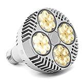 LED Grow Light Bulb 120W, CFGROW Full Spectrum