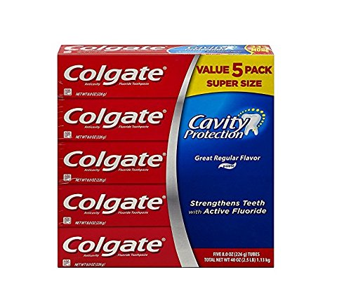 Colgate Protection Regular Fluoride Toothpaste product image