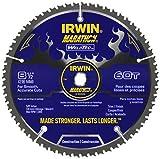 IRWIN Tools MARATHON WeldTec Circular Saw Blade, 8-1/2-inch, 60T (4935204)