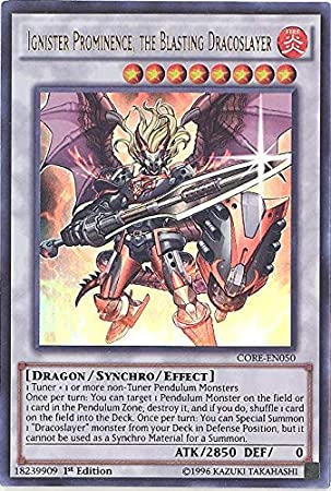 Yu-Gi-Oh! - Ignister Prominence, the Blasting Dracoslayer ...