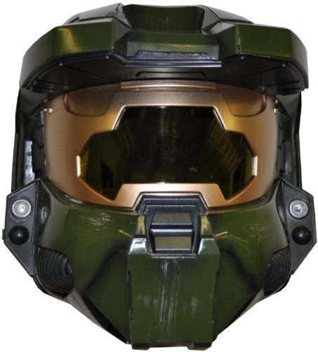 Deluxe HALO 3 Master Chief Helmet Costume Accessory]()