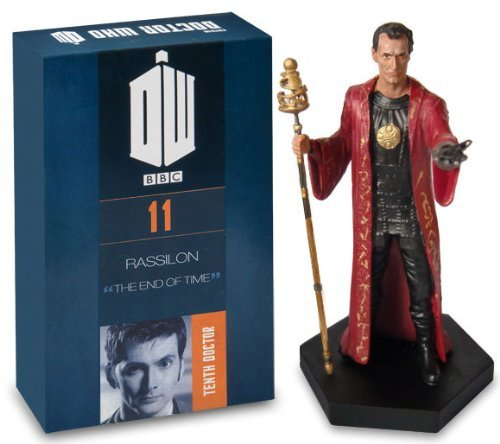 Doctor Who Figurine Collection - Figure #11 - Rassilon - Hand Painted 1:21 Scale Model - Collector Boxed