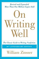 On Writing Well has been praised for its sound advice, its clarity and the warmth of its style. It is a book for everybody who wants to learn how to write or who needs to do some writing to get through the day, as almost everybody does...