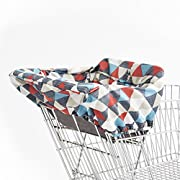 Shopping Cart and Baby High Chair Cover, Take Cover, Triangles