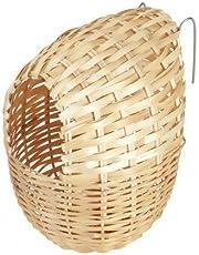 Kerbl bambù Nido per Uccelli esotici, 12x 11cm