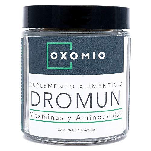 Dromun de Oxomio - Ayuda para dormir rejuvenecedora, 60 cápsulas