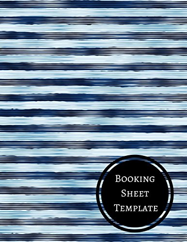 Booking Sheet Template: Hotel Reservation Log