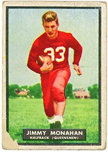 Jimmy Monahan (Rutgers University Queensmen) 1951 Topps Magic College Football Trading Card #1