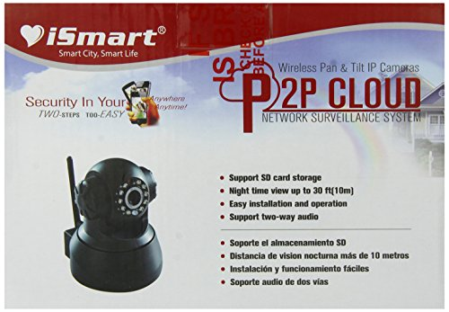 iSmart Wifi Baby Monitor Camera, White